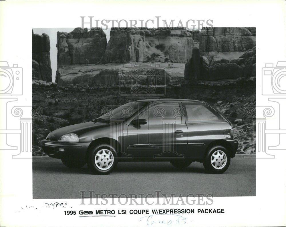 Vintage Photos 1995 Prensa Fotos Geo Metro LSI Coupe Expresión Paquete - rrt36657: Amazon.es: Hogar