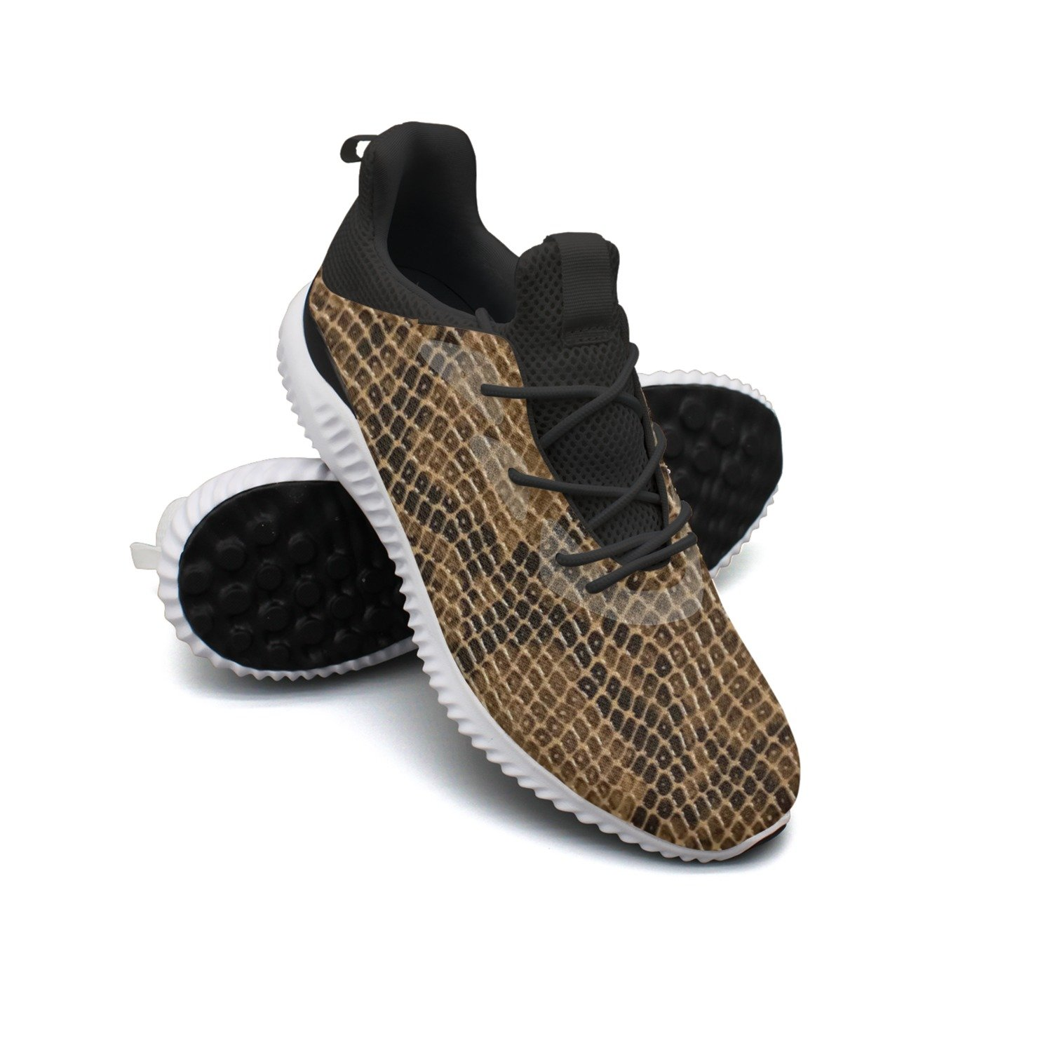 Cobra Snake Skin Leisure Sports Running Shoes Women Cool Cool Colorful