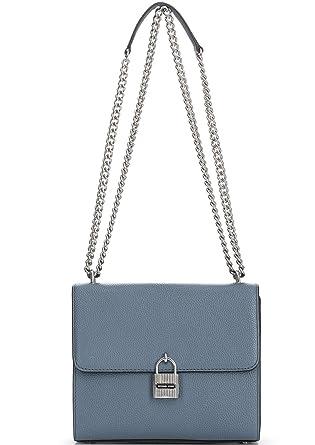 8f49d8ae5e349 Amazon.com  MICHAEL MICHAEL KORS MAXINE - Shoulder Bag - Denim  Clothing