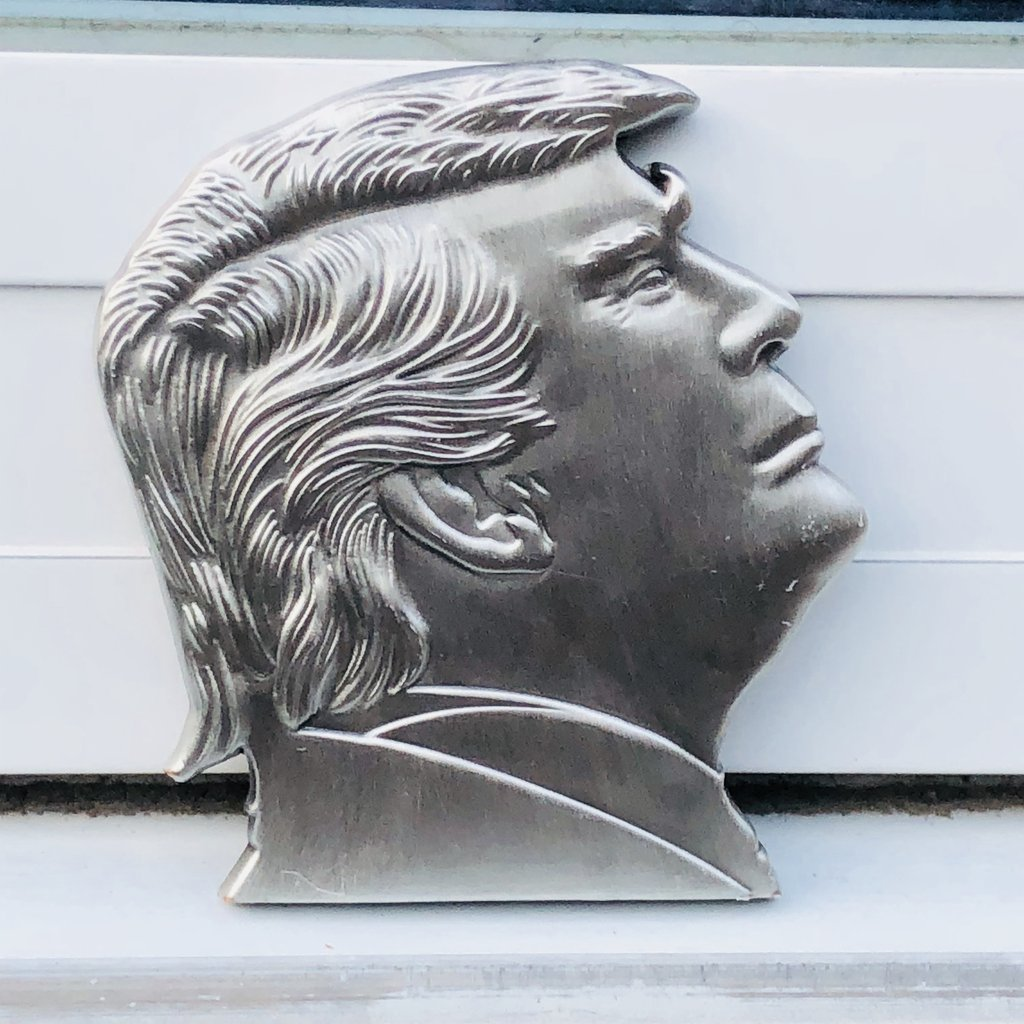 Donald Trump Poker Chip Card Guard
