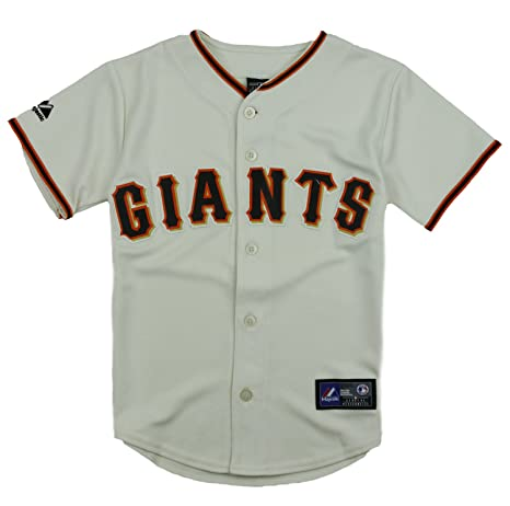edaa74fc1 discount code for majestic san francisco giants mlb big boys home replica  jersey beige large 14