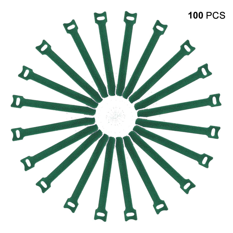 Anvok 100 pz riutilizzabile di gestione dei cavi cinghie di ...