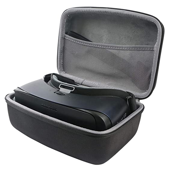 5a3fdad76ab Image Unavailable. Image not available for. Color  co2crea Hard Travel Case  for Samsung Gear VR Controller 2017 2018 SM-R325 Virtual