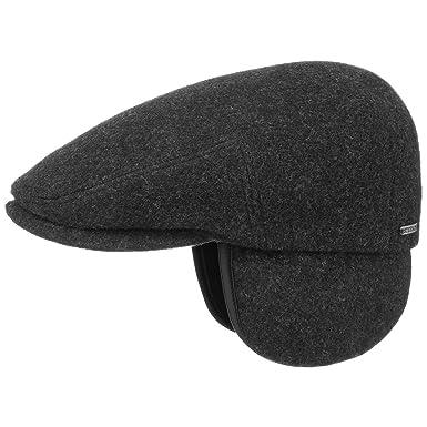 8bfdb2f51b660 Stetson Kent Wool Earflaps Flat Cap Men