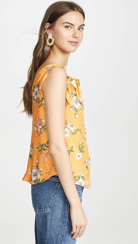 Rebecca Taylor Womens Sleeveless Lita Floral Tank