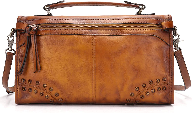 Fei Studio Italian Genuine Leather Handmade Briefcase