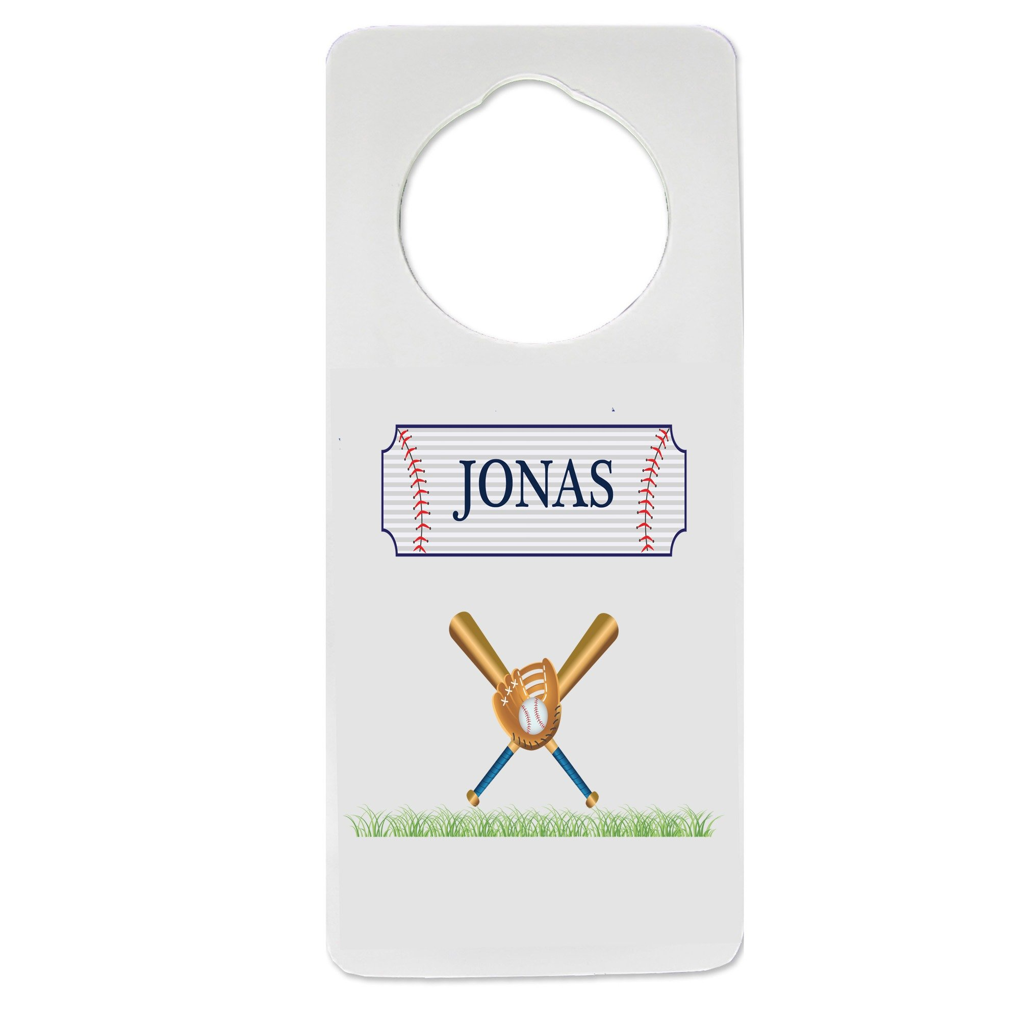 Personalized Baseball Nursery Door Hanger