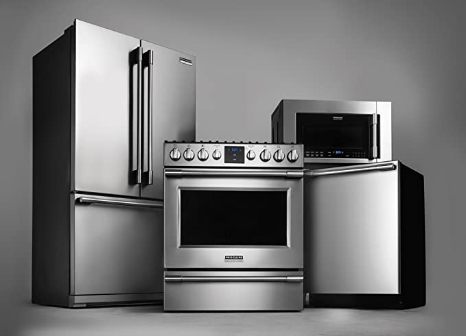 Amazon.com: Frigidaire Professional Appliance Package with French ...