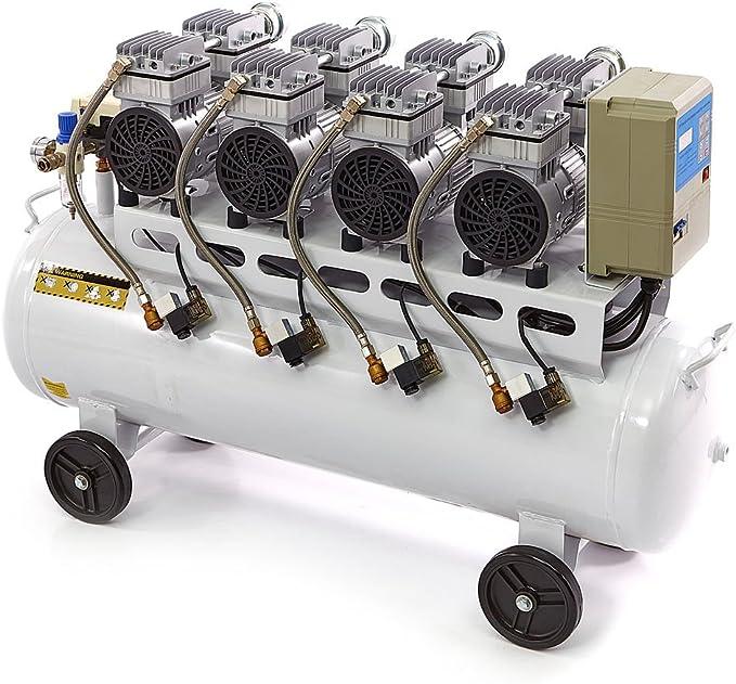 Sehr Leiser Kompressor Mit 120 Liter Kessel Und Nur Ca 60 Db Geräuschentwicklung Nr 6294 Baumarkt