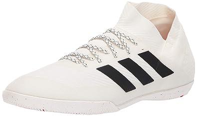 22e274422 adidas Men's Nemeziz 18.3 Indoor, Off Off White/Black/Active red, 9.5