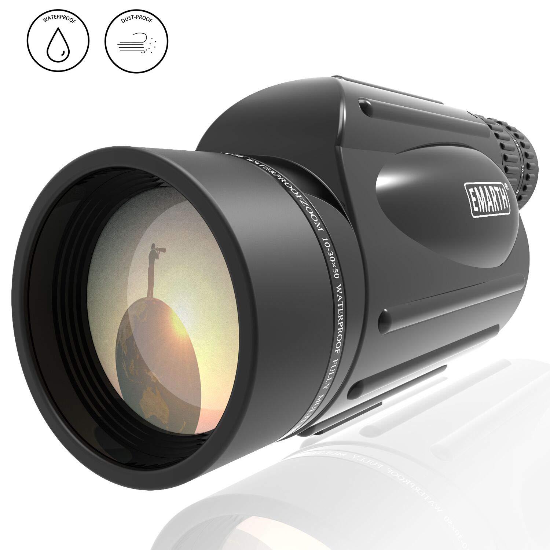 Monocular de alta potencia 10-30X50 Zoom waterproof (xmp)