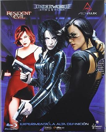 Pack Aeon Flux + Underworld + Resident Evil [Blu-ray]: Amazon.es ...