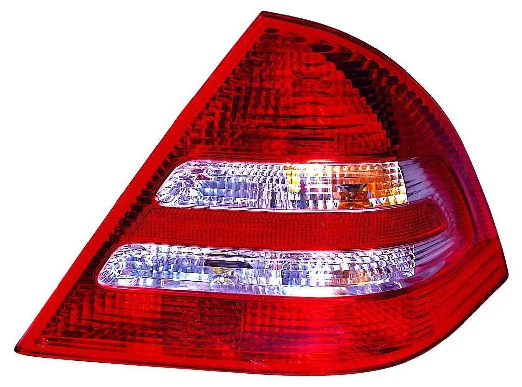 Depo 340-1906L-US Mercedes-Benz C-Class Driver Side Replacement Taillight Unit without Bulb 02-00-340-1906R//L-US