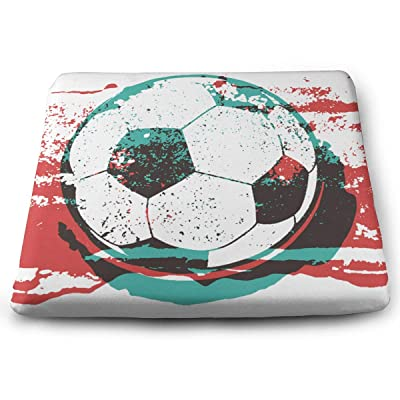 Sanghing Customized Fashion Football 1.18 X 15 X 13.7 in Cushion, Suitable for Home Office Dining Chair Cushion, Indoor and Outdoor Cushion.: Home & Kitchen