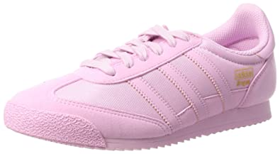 cheap for discount 386d7 28001 adidas Dragon OG, Sneakers Basses Mixte Enfant, Rose Frost Pink, 36 EU