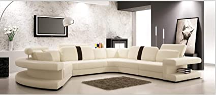 Amazon.com: My Aashis Living Room Sofa Furniture with Modern Corner ...
