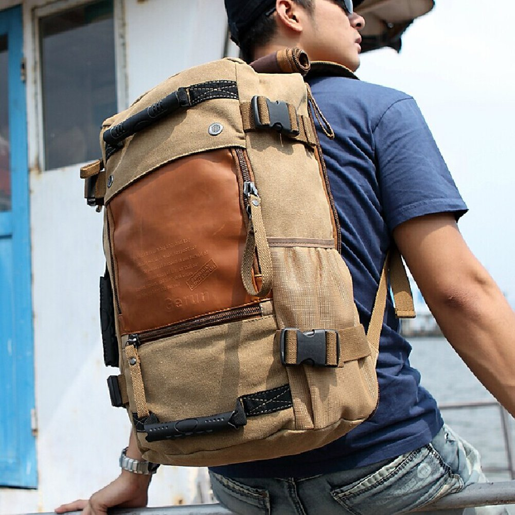 Ibagbar Canvas Backpack