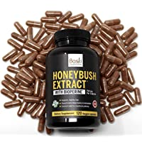 Baski Supplements Natural Honeybush Extract Pill Capsule Treatment for Acne, Eczema...