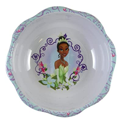 Disney Princess and the Frog Tiana Dinner Bowl - Princess Tiana Dinnerware - Princess and the Frog Tableware: Toys & Games