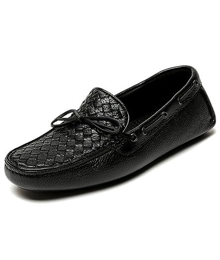 Bottega Veneta Interwoven Leather Loafers 1pAfTHH