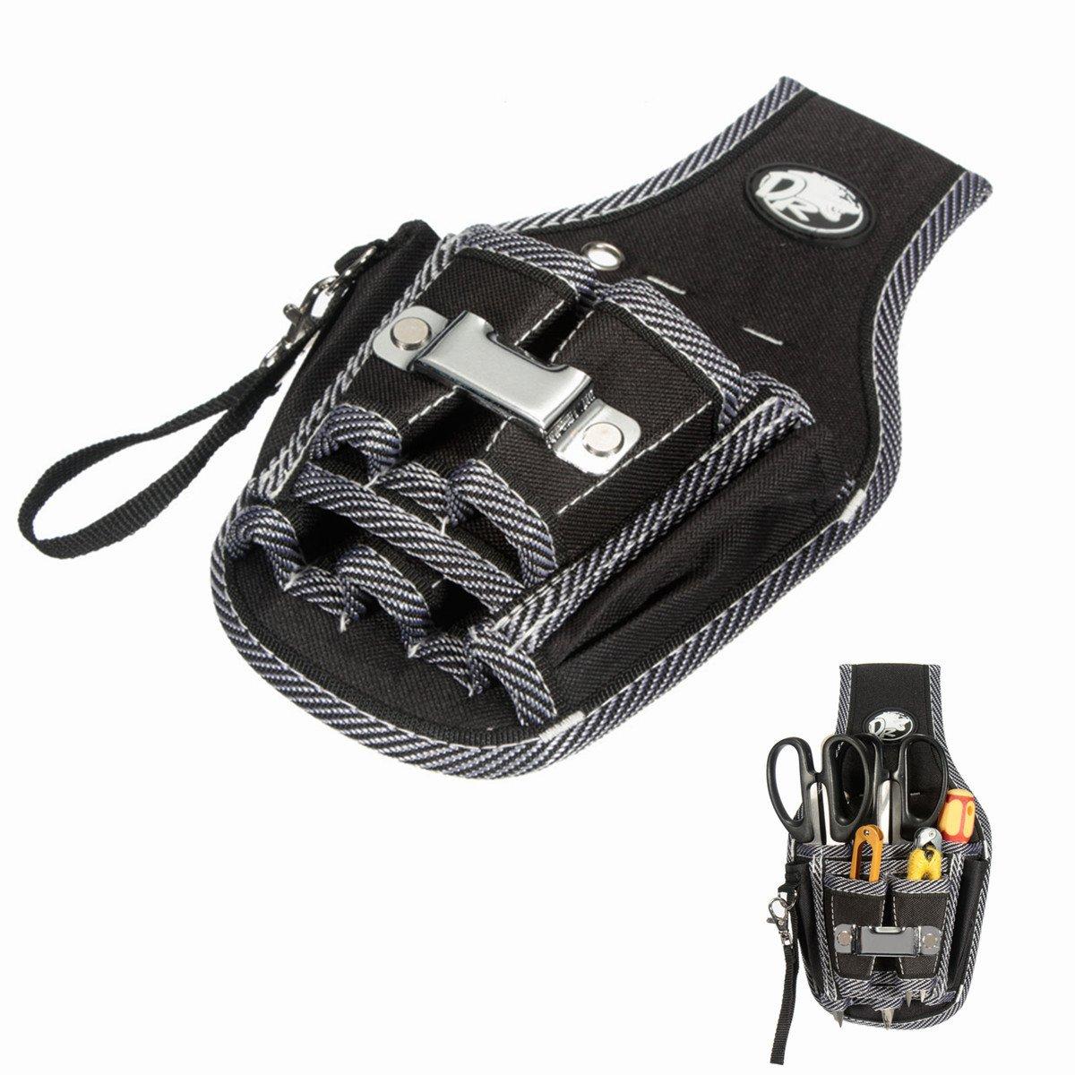 Werkzeuggü rtel MOHOO 9 in 1 Werkzeugtasche befestigung am Gü rtel guten Werkzeugbeutel fü r Werkzeugen, Schraubendreher und Bohrern etc.