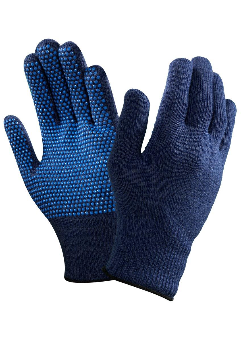 Ansell VersaTouch 78-203 Hitze- und Kä lteschutz Handschuhe, Chemikalien- und Flü ssigkeitsschutz, Blau, Grö ß e 7 (12 Paar pro Beutel) Ansell VersaTouch 78-203 / 7