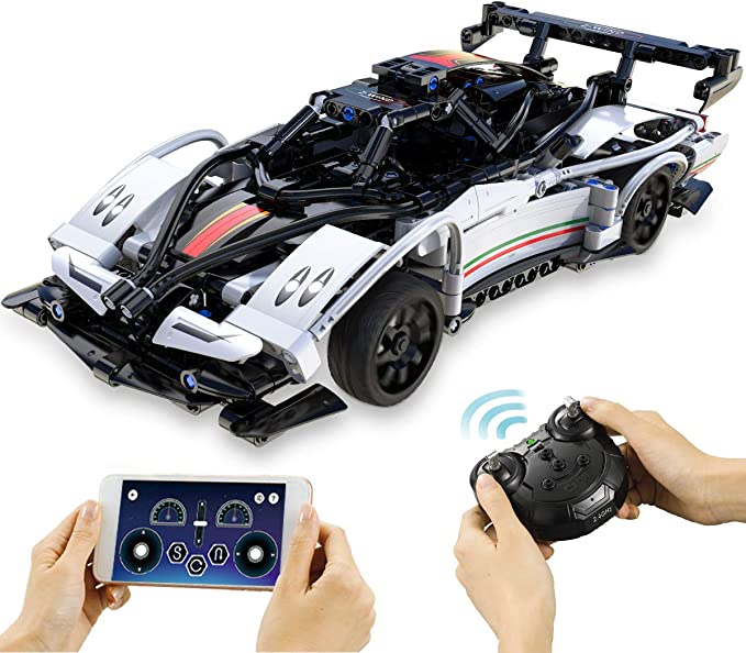 Amazon.com: ZAYOR STEM Building Toys 2.4 Ghz Remote Control Race Car Model Cars Kits as a Birthday Gift for Childs Rc Car for Boys 6 7 8 9 10 11 12+ and Adults (457Pcs): Toys & Games