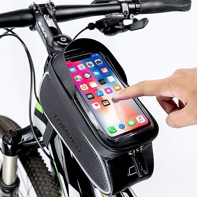 Handy Fahrrad Halterung Fahrradtasche Rahmentasche Wasserdicht MTB Mountain bike