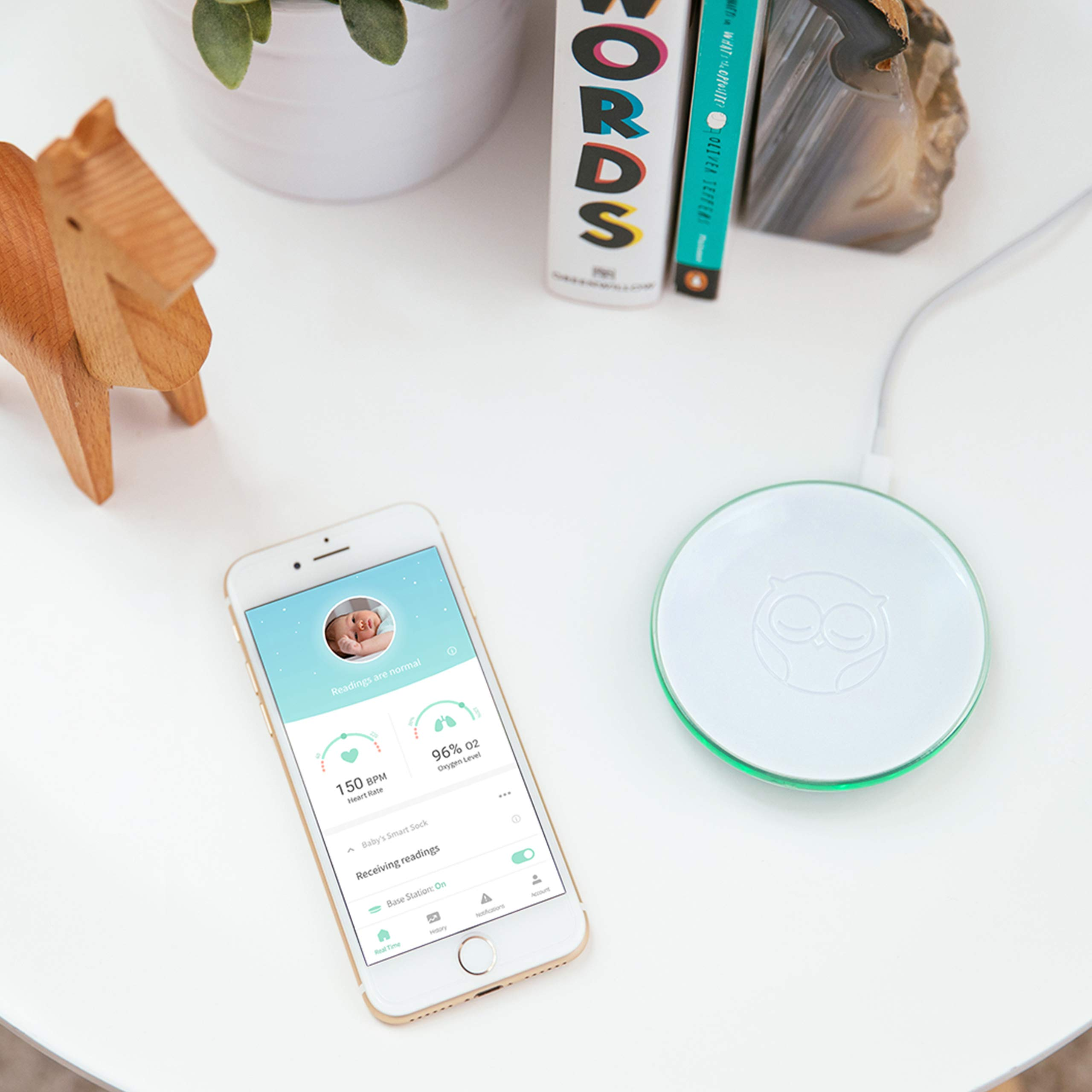 Owlet Smart Sock 2 Baby Monitor (Renewed) by Owlet (Image #6)