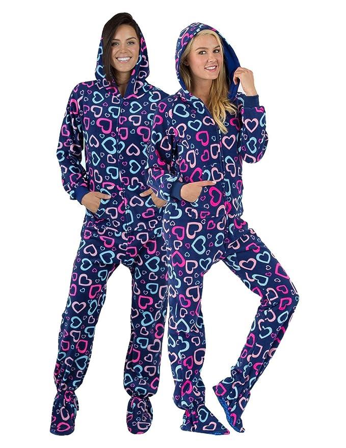 womens Warm adult sack pajamas