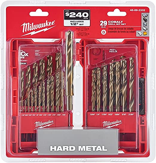 Twist Drills for Metal Milwaukee MIL2352373 HSS Jobber