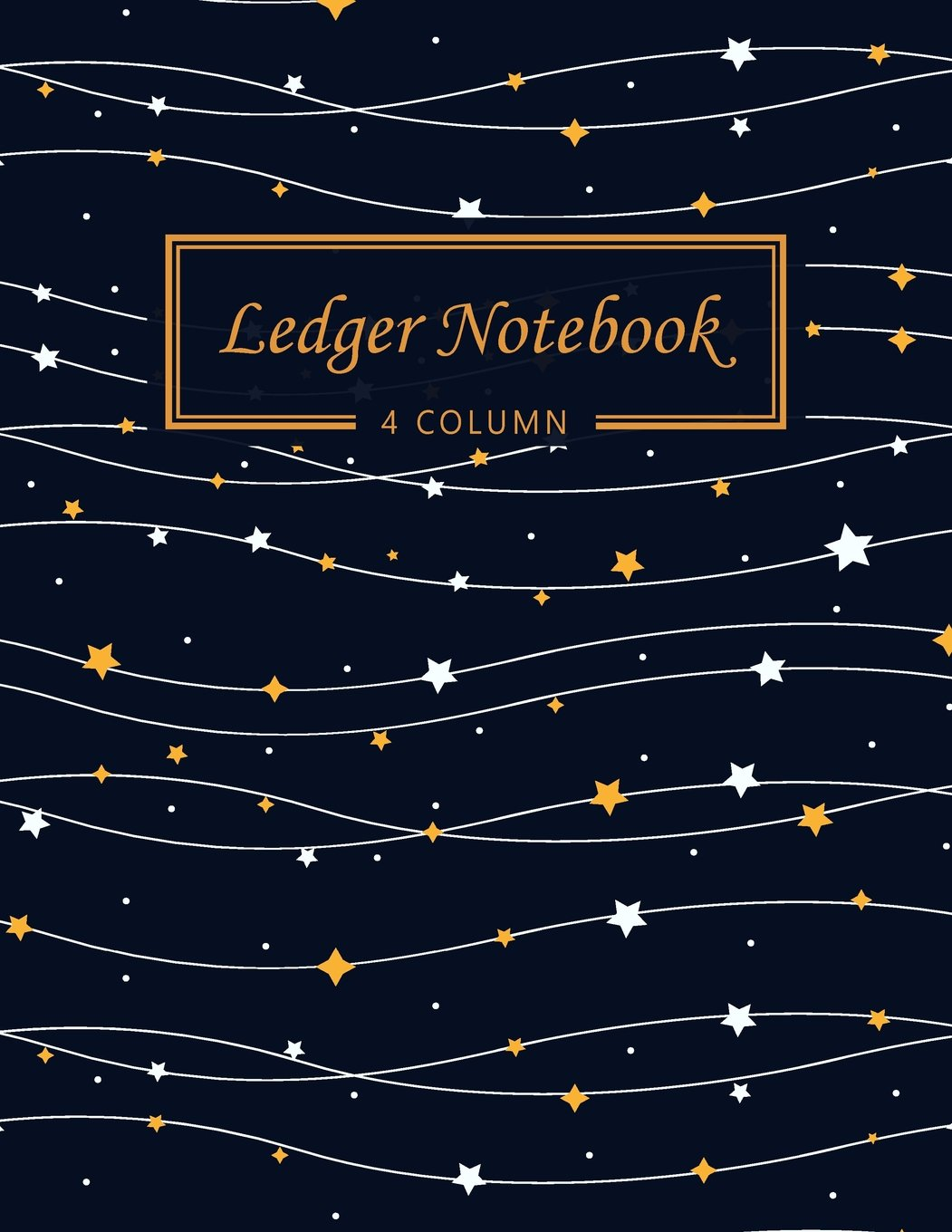 Download Ledger Notebook: 4 Column Ledger Record Book Account Journal Accounting Ledger Notebook Business Bookkeeping Home Office School 8.5x11 Inches 100 ... Star (Accounting Ledger Paper) (Volume 3) PDF