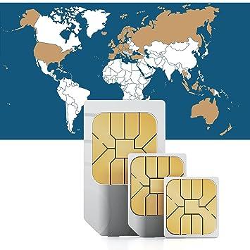 travsim Global Internet SIM para 36 Países - Prepaid Datos ...