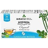 Miracle Tree - Organic Moringa Superfood Tea, 25 Individually Sealed Tea Bags, Original