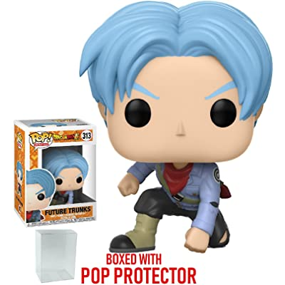 Funko Pop! Anime: Dragon Ball Super - Future Trunks Vinyl Figure (Bundled with Pop Box Protector CASE): Toys & Games