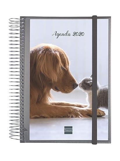 Finocam - Agenda 2020 1 día página Espiral Personalizable ...