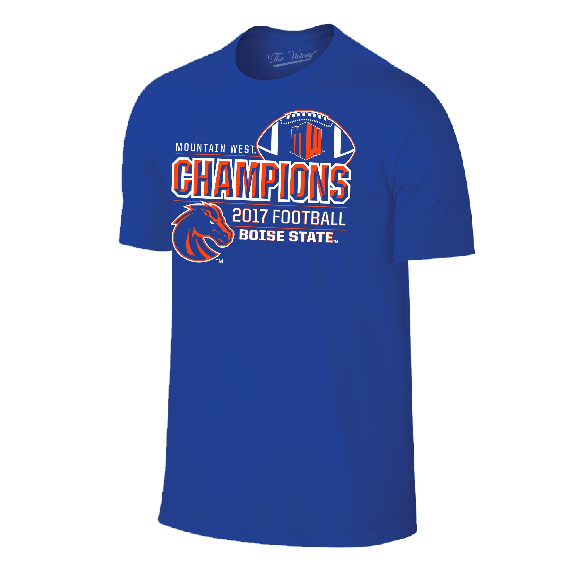 Conference Champions 2017 College University Primary Color Football T Shirt