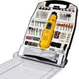 Timbertech Multi tool Mini Electric Rotary Grinder Polisher Engraver Tools Sander 243pc Accessory Kit
