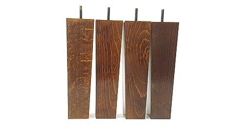 Knightsbrandnu2u piedini per mobili in legno 200 mm alta