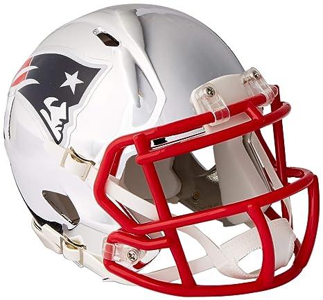 600c3718 Amazon.com : Riddell Speed NFL NEW ENGLAND PATRIOTS Football Helmet ...