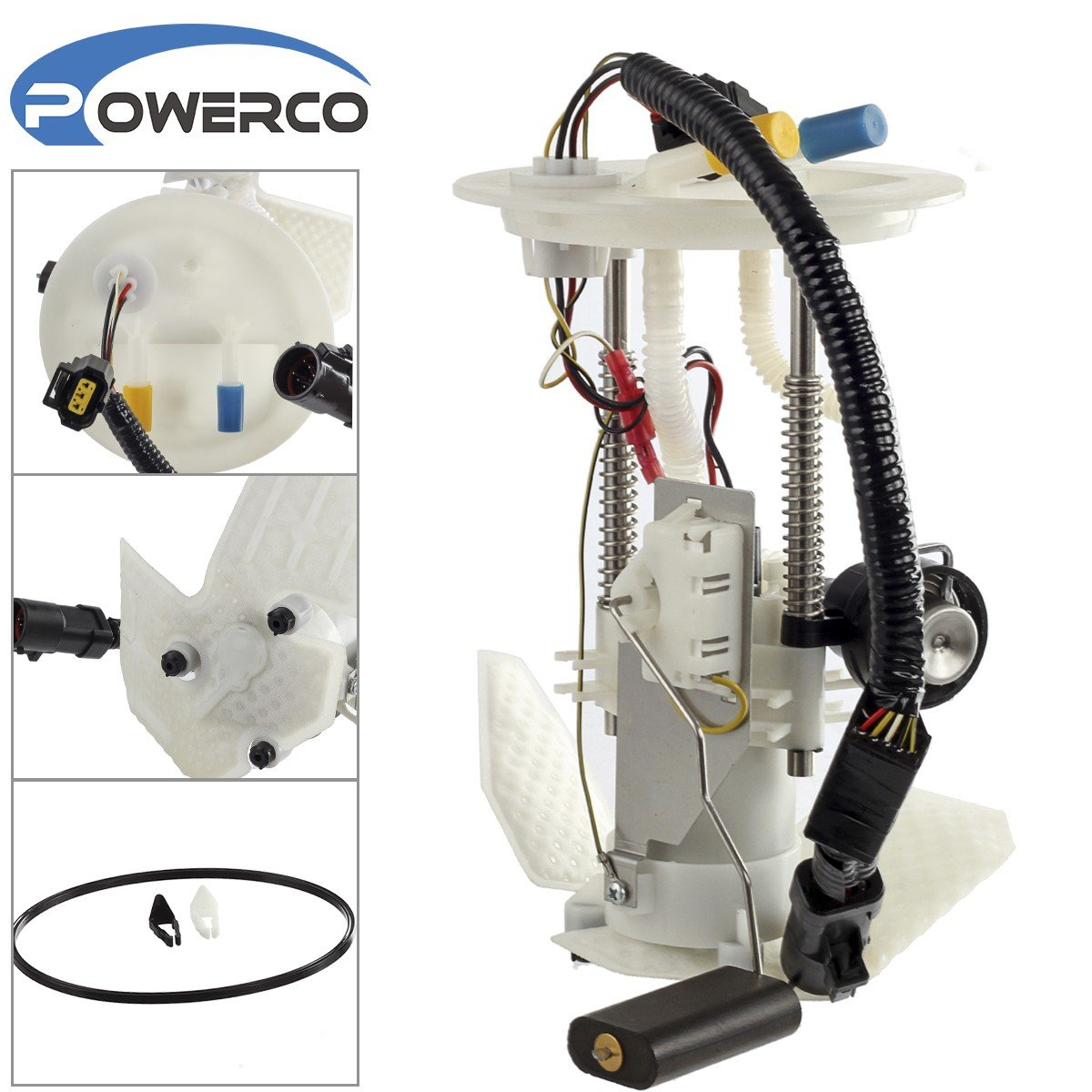 Amazon.com: POWERCO Electric Fuel Pump Module Assembly for 2002 2003 FORD  EXPLORER V6-4.0, 2002 MERCURY MOUNTAINEER V6-4.0L with Sending Unit E2338M  ...