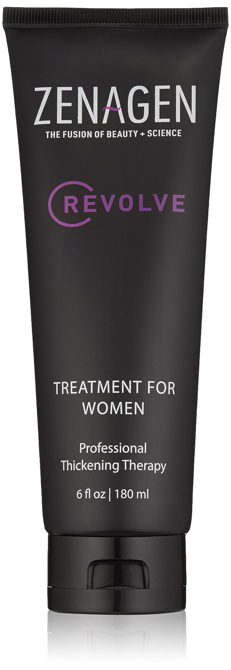 Zenagen Revolve Thickening and Hair Loss Shampoo Treatment for Women, 6 oz.