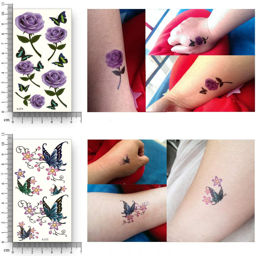 Tatuajes Temporales Niños Superheroes 12 Hojas Falso Tatuaje ...