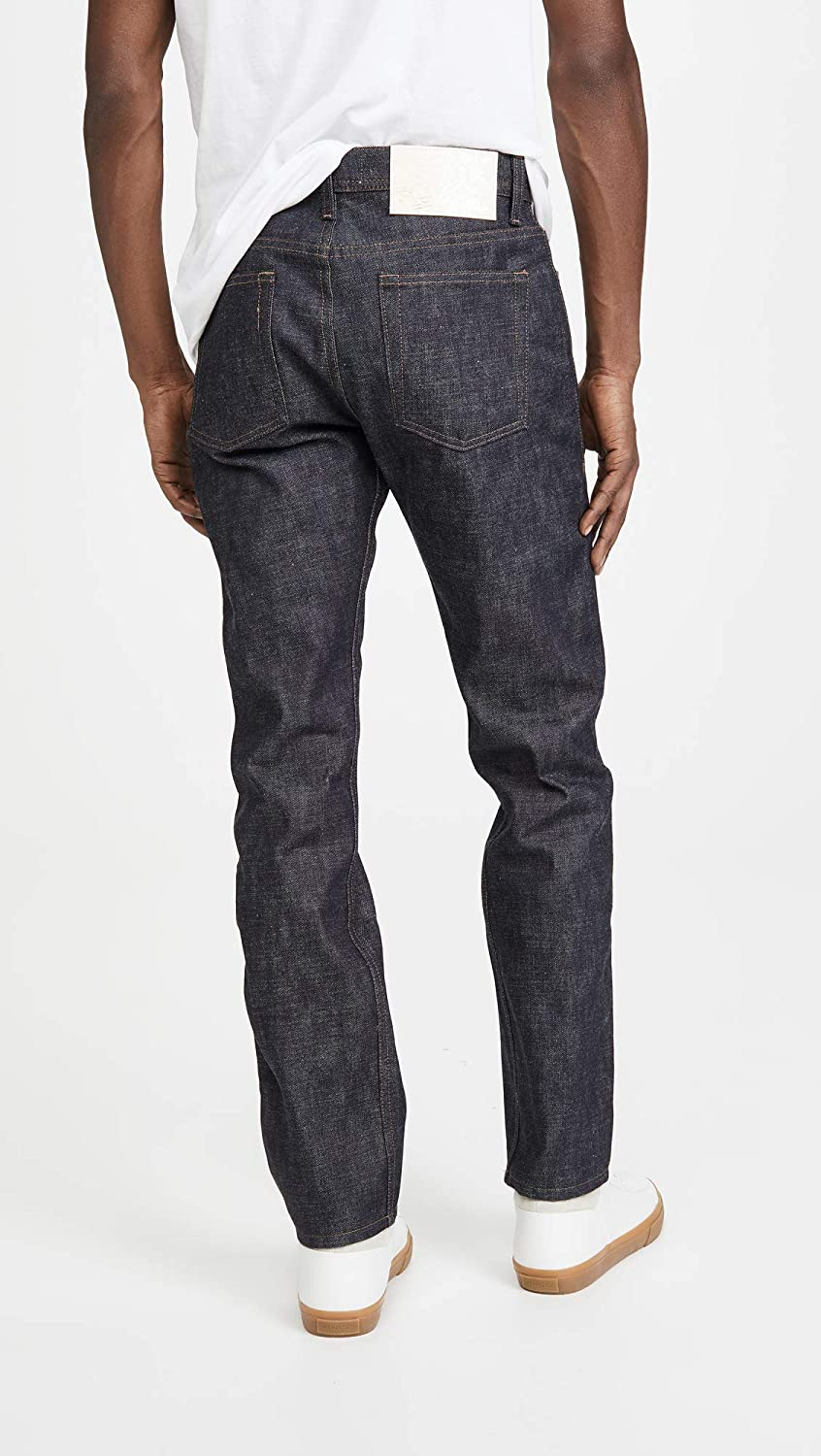 Naked /& Famous Mens Chinese New Year Metal Rat Weird Guy Jeans