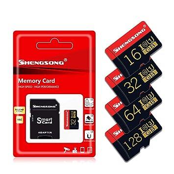 LJ2 Tarjeta Micro SD, Tarjeta de Memoria TF Tarjeta Flash TF ...