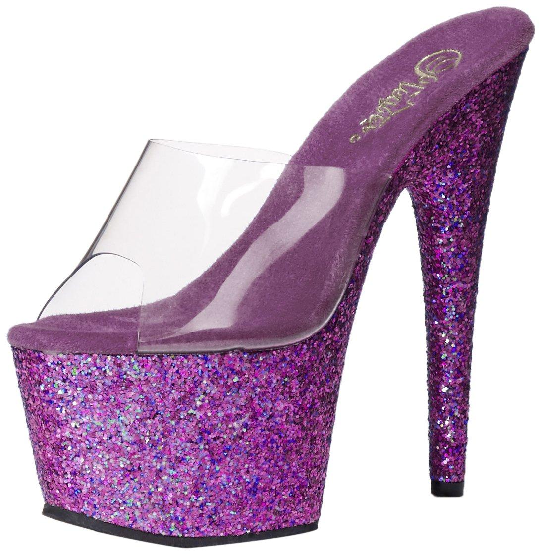 Pleaser Damen Adore-701lg Sandalen Violett2018 Letztes Modell  Mode Schuhe Billig Online-Verkauf