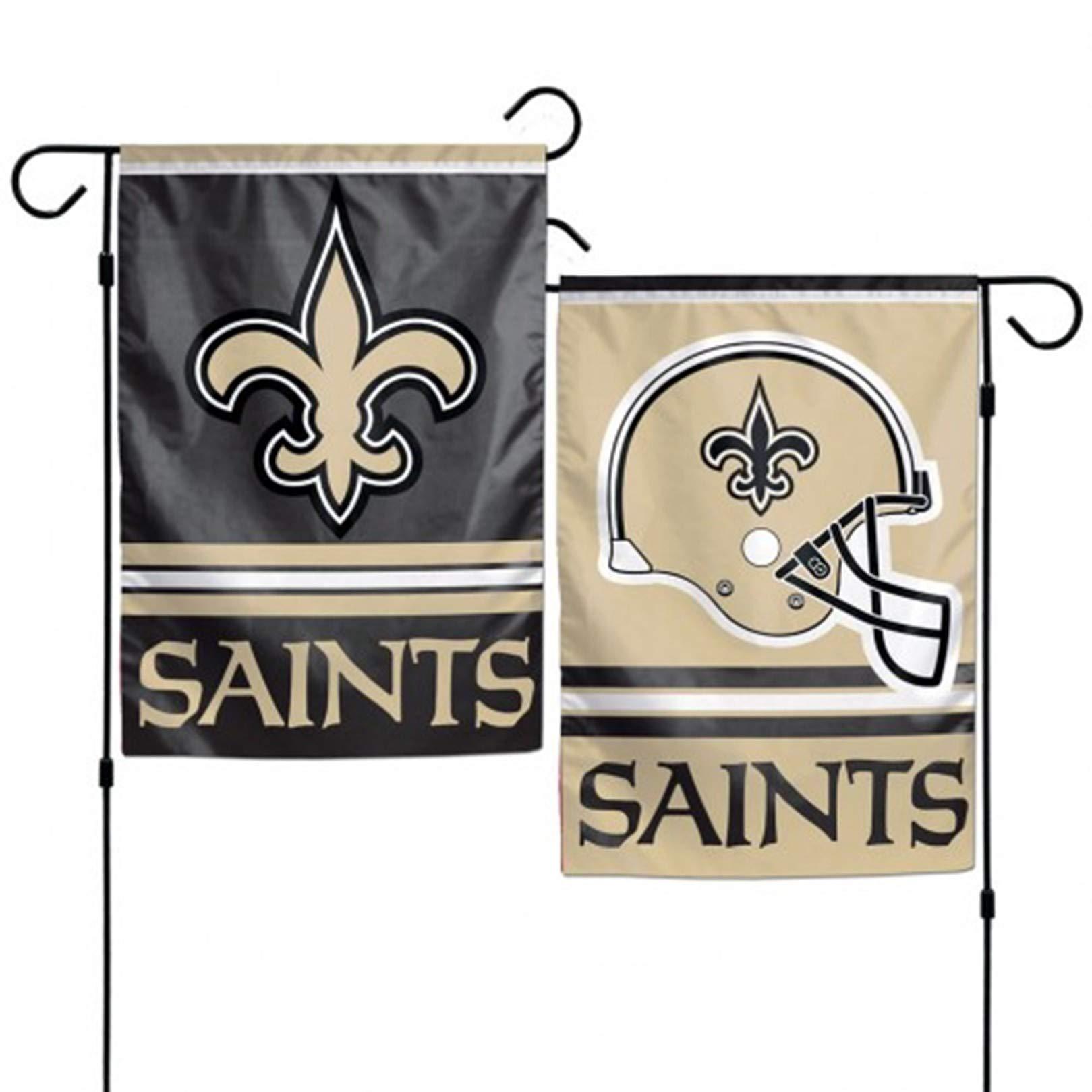 Stockdale New Orleans Saints WC Garden Flag Premium 2-Sided Outdoor House Banner Football