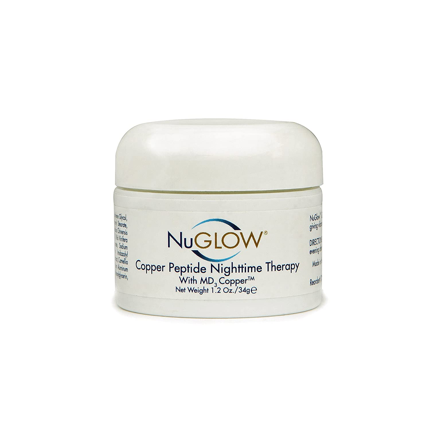NuGlow Copper Peptide NightTime Therapy With MD3 Copper