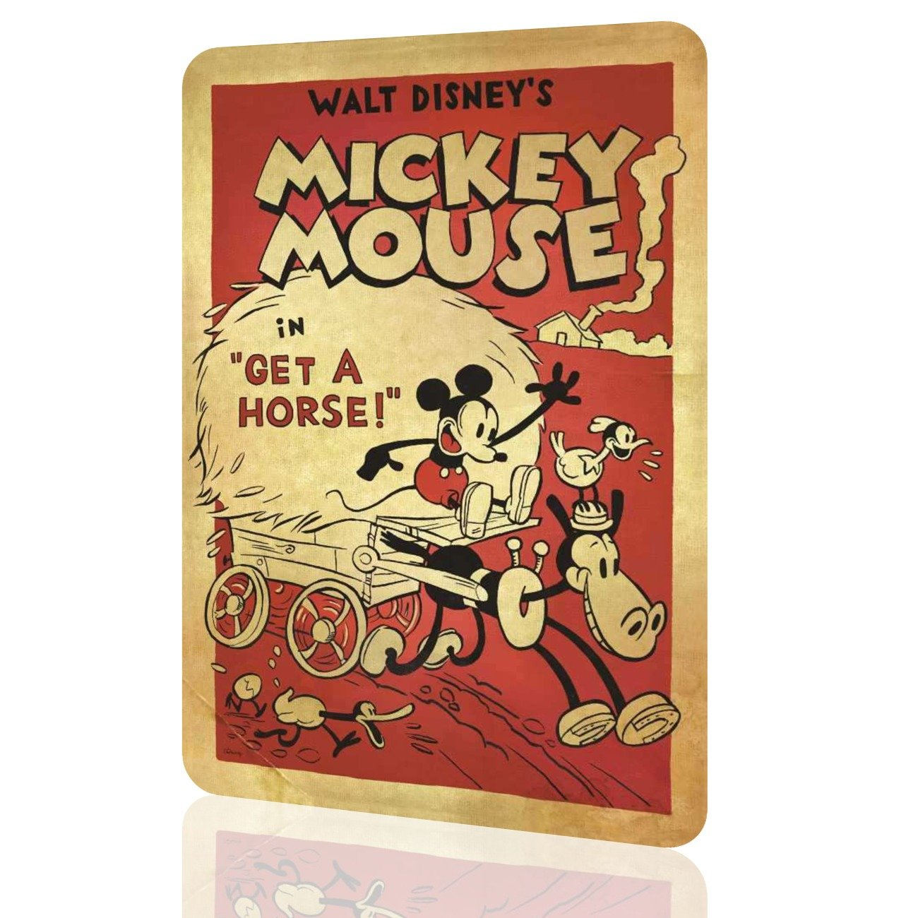 Amazon.com: Metal Sign Mickey Mouse Disney Decor Classic Poster Wall ...