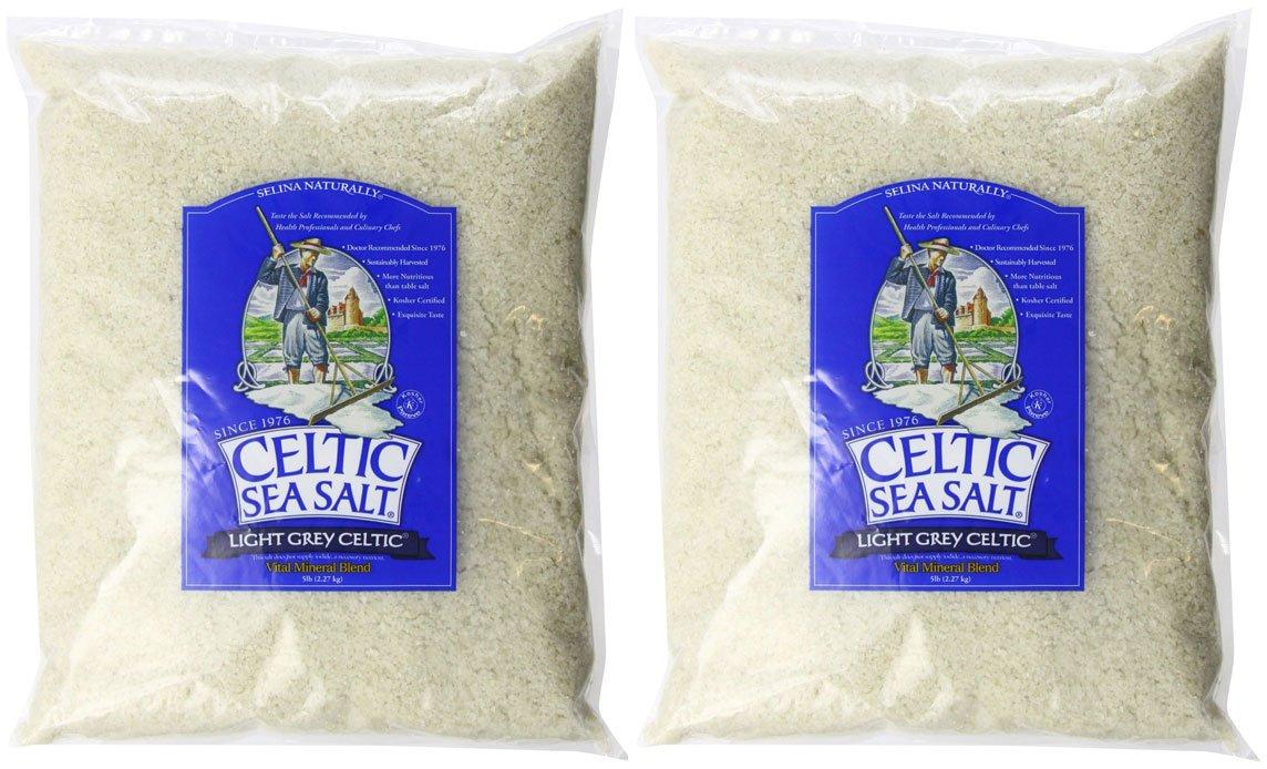 Celtic Sea Salt Bag, Light Grey (10 pound)
